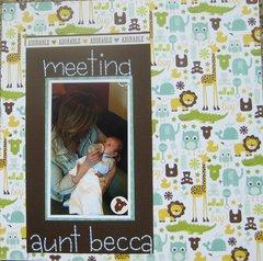 meeting aunt becca