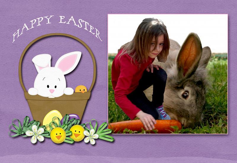 Easter Card - Leea