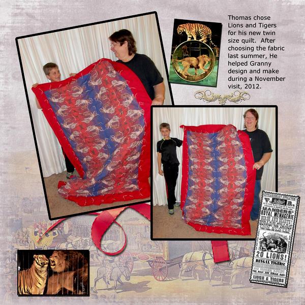 Thomas's Quilt