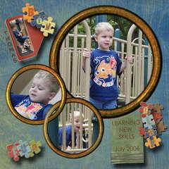 Thomas on Playground