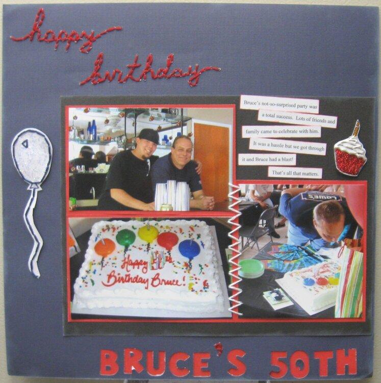 Bruce's 50th