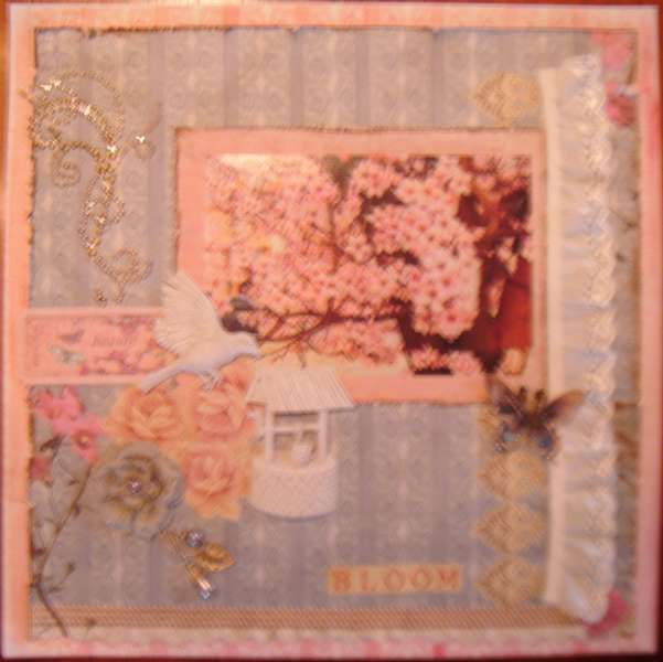 "Bloom ~Scraps of Elegance~ ""Country Charm"" June kit"