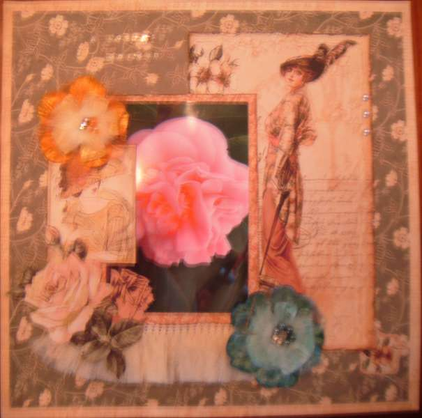 A Ladies Garden ~Scraps of Elegance~ July Kit