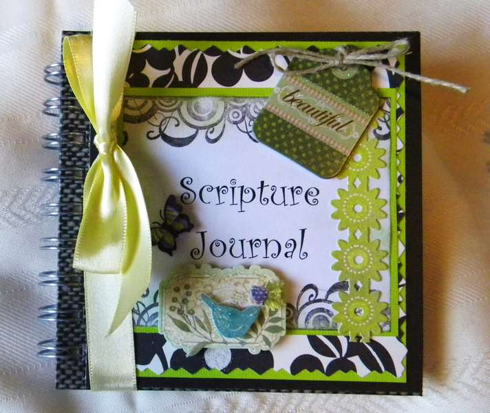 Scripture Journal-Beautiful