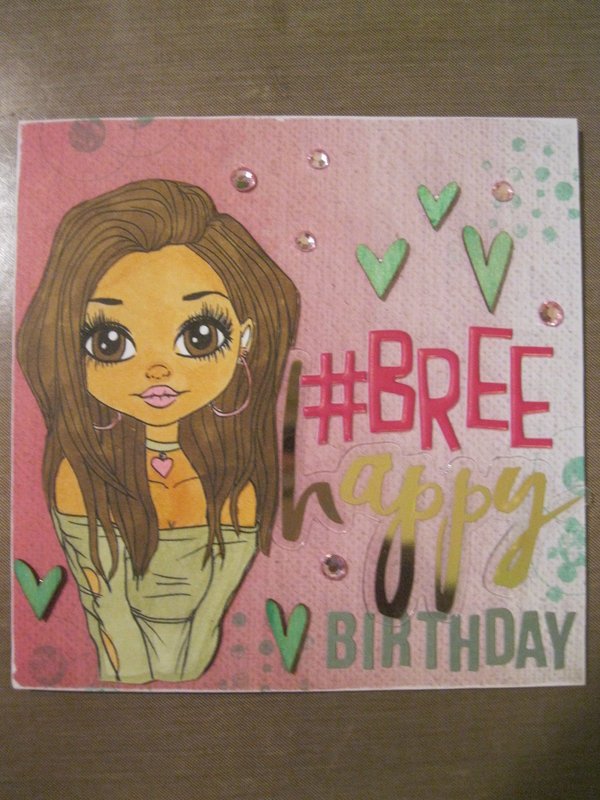 Birthday Card-Bree