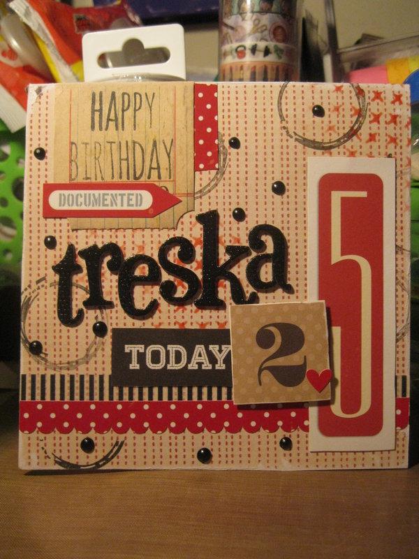 Birthday Card-Treska