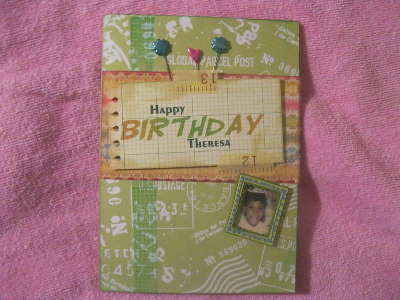 Theresa's B-Card