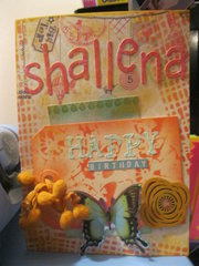 Birthday Card-Shallena
