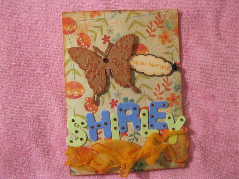 Shirley B-Card