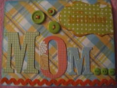Mom's B-day Card