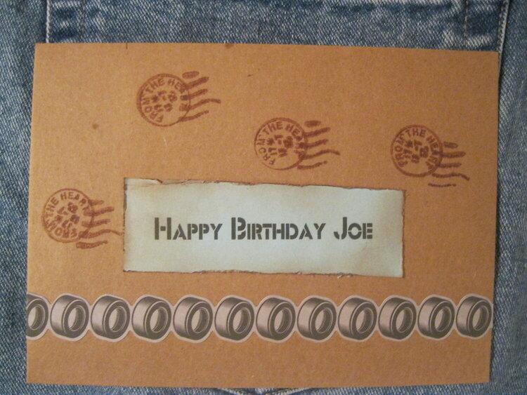 Joe Envelope