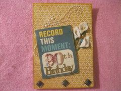 Sis. Jewell's B-Card