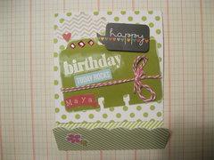 Maya Birthday Card