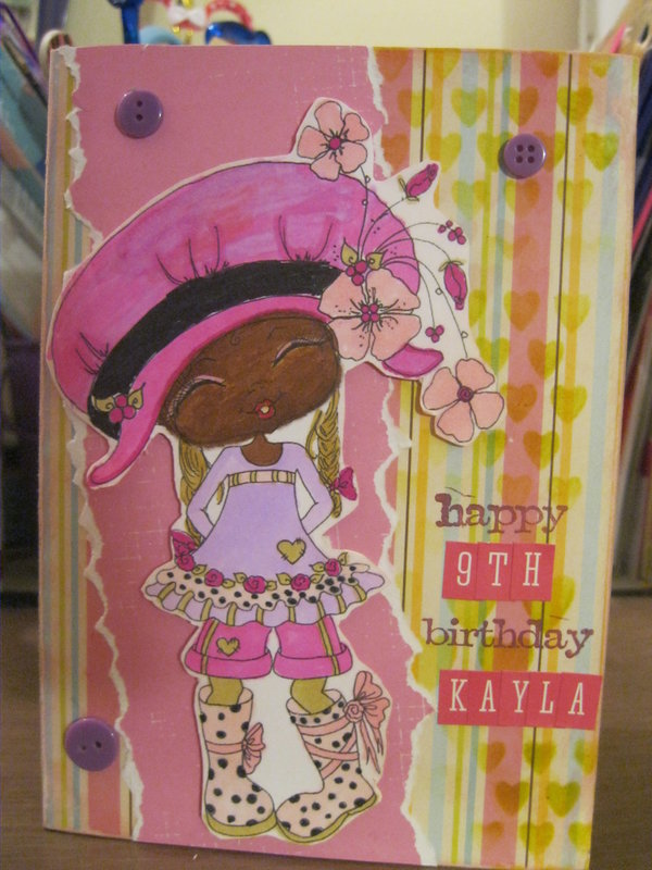 Kayla Birthday Card