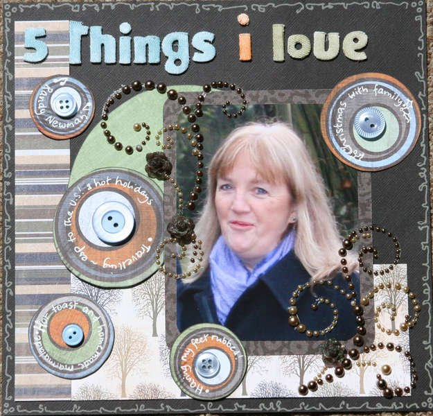 5 things I love