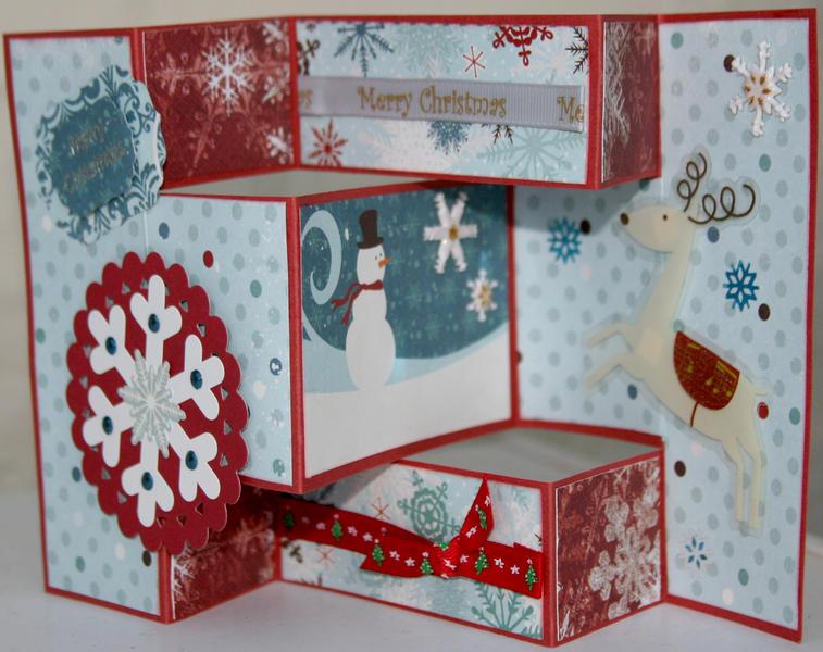 Trifold Christmas card 2