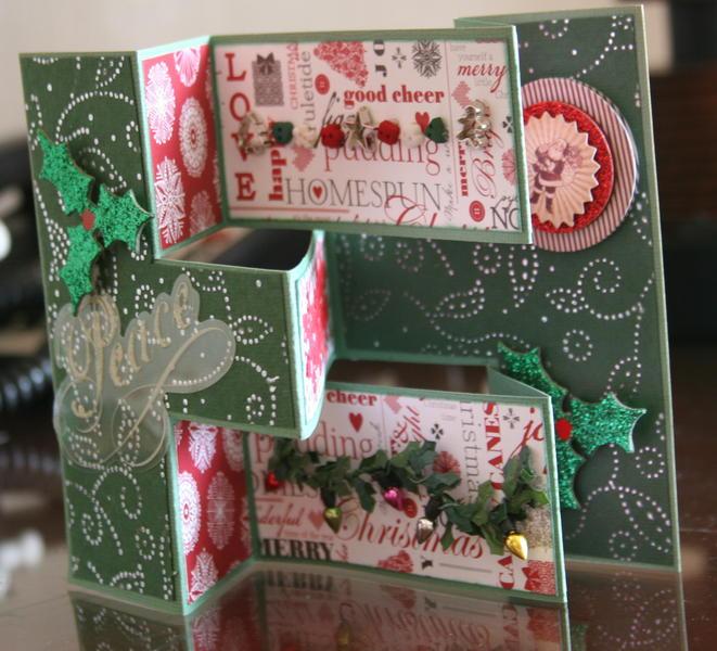 Christmas card - green