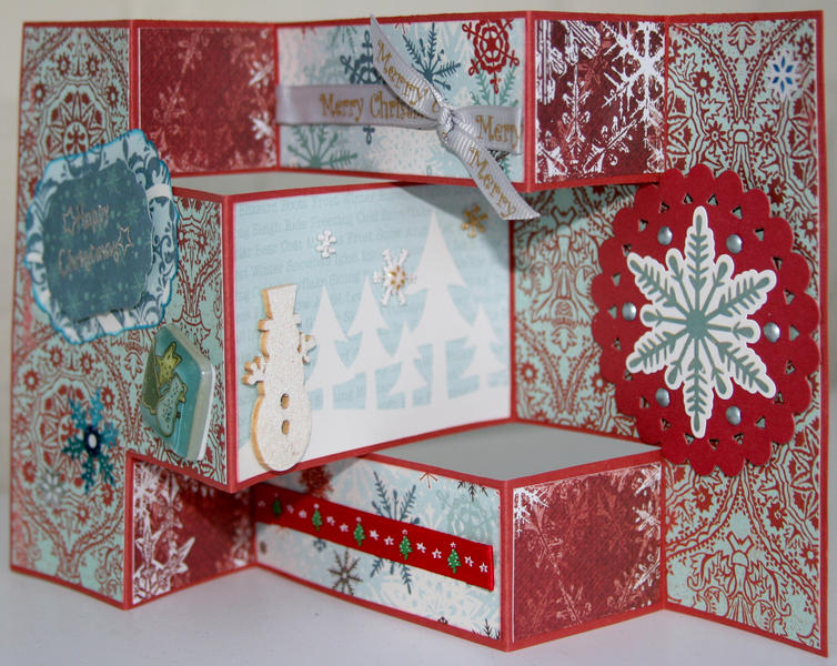 Trifold Christmas card