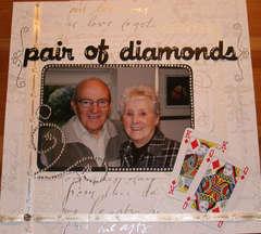 Pair of diamonds!