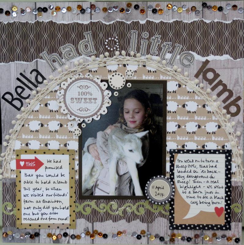 Bella had a little lamb