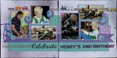 Celebrate Henry's 2nd birthday!