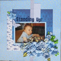 Standing up!
