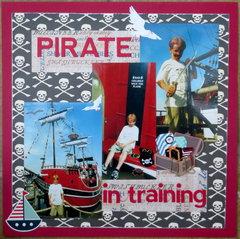 Pirate in training