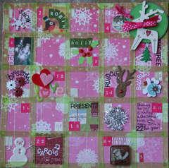 Advent calendar - Christmas journal