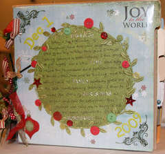 Joy to the World (Journal Your Christmas front cover)