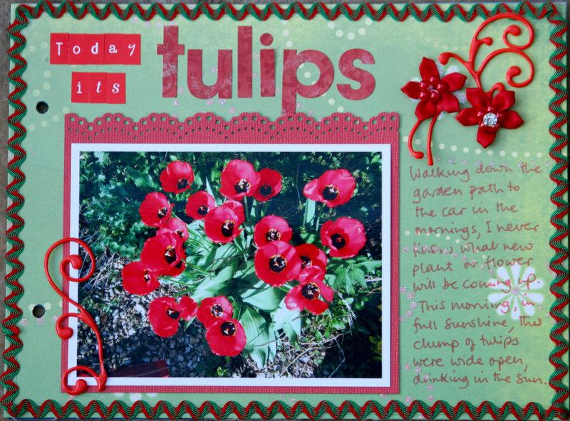 Tulips - my week mini album p2
