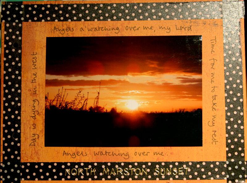 My week - p8 sunset