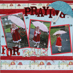 Praying for rain! (BLING CHALLENGE!)