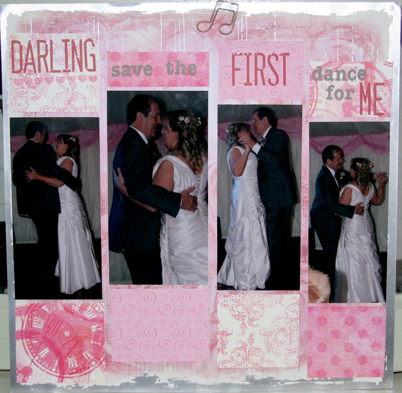 Darling, save the FIRST dance for me