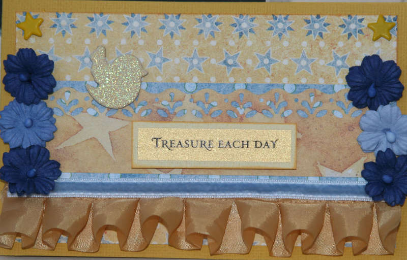 Treasure each day -card