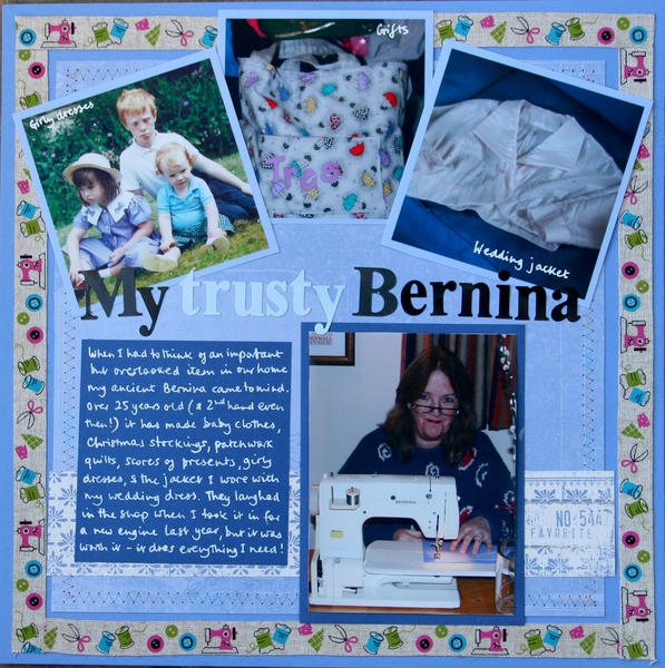 My trusty Bernina