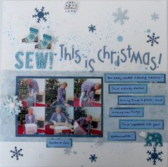 Sew! this is Christmas!