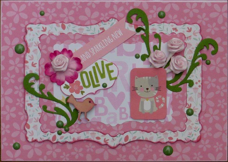 Granddaughter card