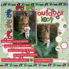 Outdoor boy
