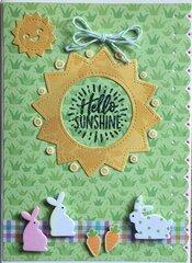 Hello sunshine card