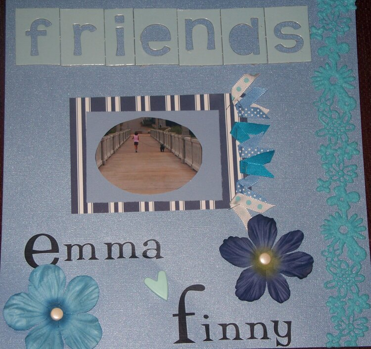 friends, emma and finny