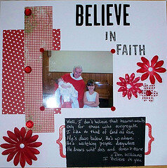 Believe in Faith