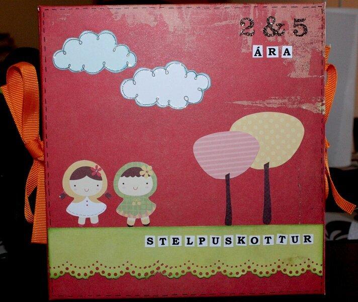 1. Mini-album front