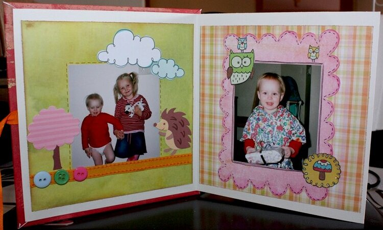 4. Mini-album pages 1 and 2