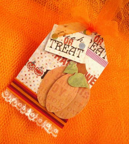Trick or Treat Halloween Gift Tag