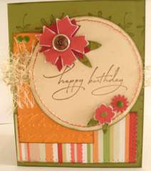 Happy Birthday Fall Birthday Card