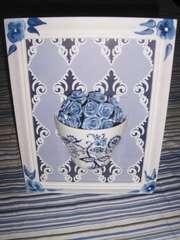 Tink ink. tea cup frame