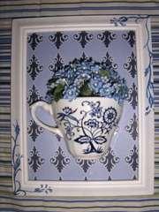 tink ink tea cup frame