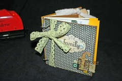 Family Binderie mini book