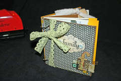 Family Binderie mini book