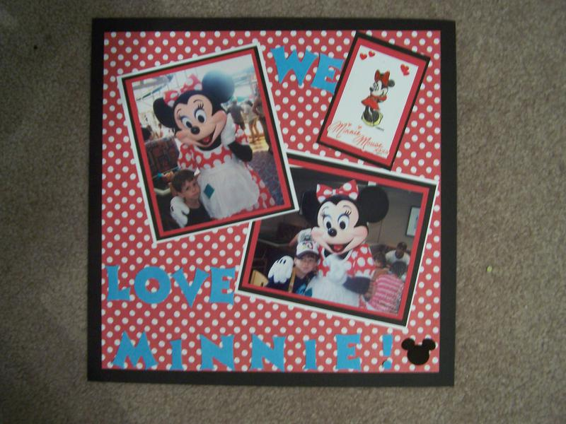 "Disney..... ""We Love Minnie"""